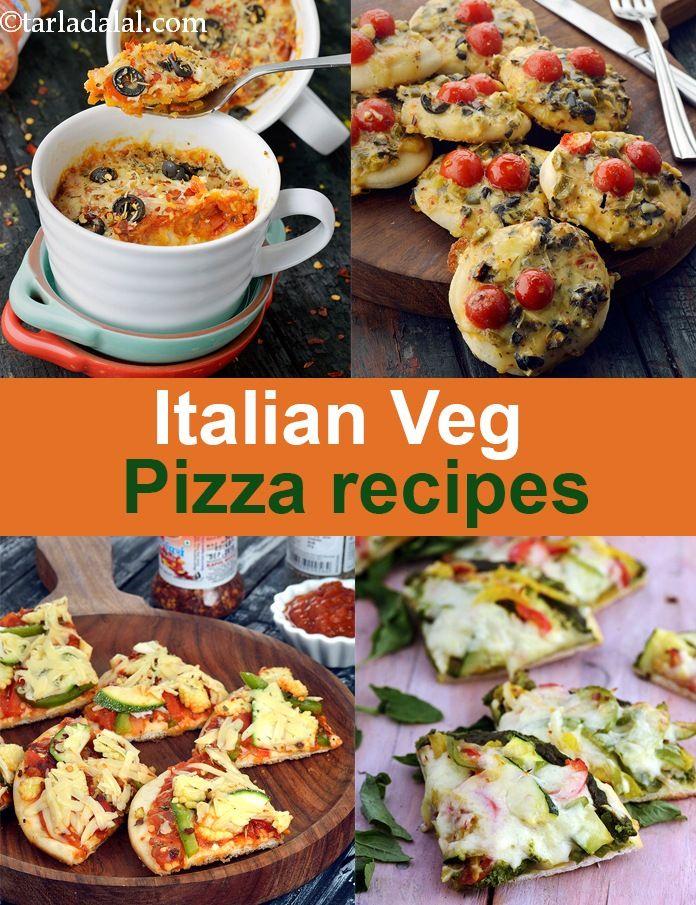 Italian Pizzas Recipes Homemade Vegetarian Pizza Recipes Pizza