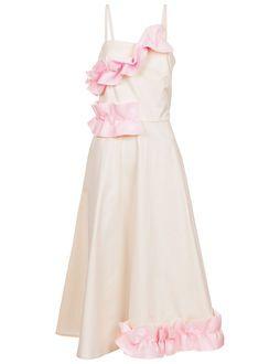 Milk & Bubblegum Frill Strap Dress