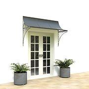 Door Canopies and Door Canopy Designs in Metal, Steel, Zinc and Iron | Garden Requisites