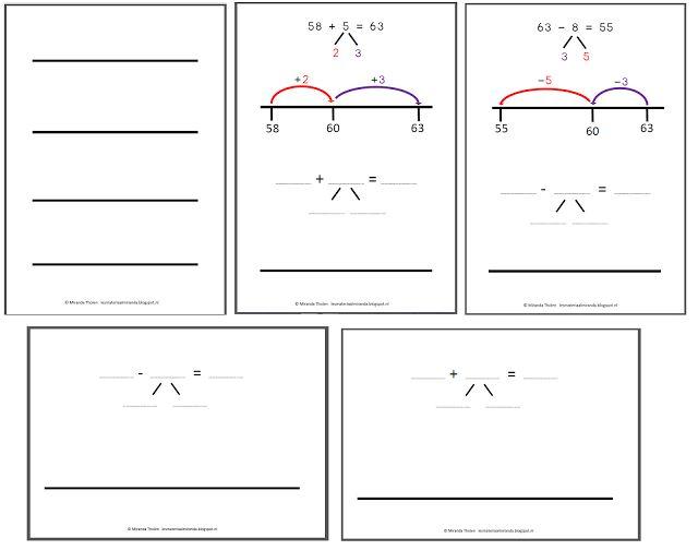 Groep: middenbouw   Werkgebied: rekenen  Onderdeel: werken met getallenlijnen    Altijd leuk om iets in opdracht te maken en kreeg dit kee...