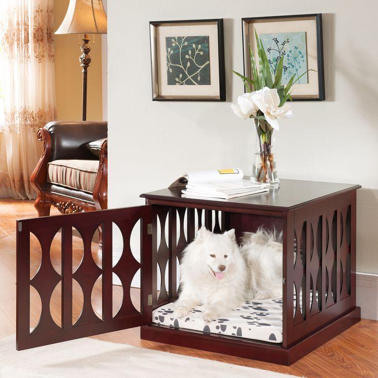 Elegant Home Fashions Gerard Pet Crate 33