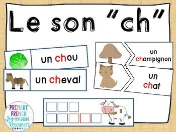 """Ch"" reading games and writing practice"