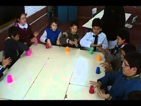"""JUEGO RITMICO CON VASOS..... KIDS and the cup game.  OCT. 2010.  Way Before...""""PITCH PERFECT ! """"  And LONG... before that all over the world as a children's game."""