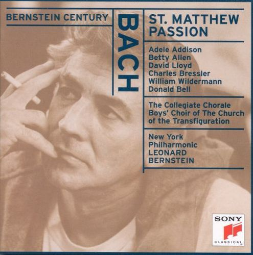 Bach: Saint Matthew Passion [CD]