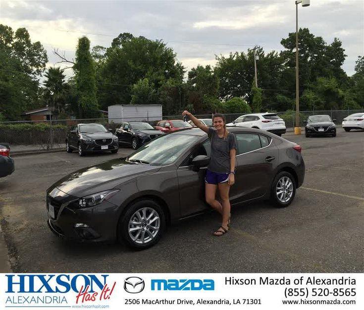 Happy Anniversary to Lianna on your #Mazda #Mazda3 from Kenderick Veal at Hixson Mazda of Alexandria!  https://deliverymaxx.com/DealerReviews.aspx?DealerCode=PSKP  #Anniversary #HixsonMazdaofAlexandria