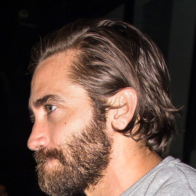 12 Reasons Jake Gyllenhaal Is A Grooming God Mens Hairstyles Thick Hair Long Hair Styles Men Medium Length Hair Men