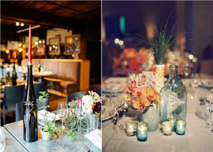 Mariage r cup inspiration d co r cup des bouteilles en verre la mari e - Blog deco recup vintage ...