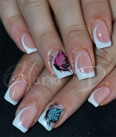 20-French-Gel-Nail-Art-Designs-Ideas-Trends-Stickers-2014-Gel-Nails-81.jpg (400×471)