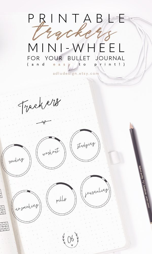 Wheel Tracker Stickers Printable Monthly Stickers Minimal Bullet