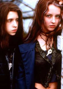 Katharine Isabelle and Emily Perkins as Ginger and Brigitte in Ginger Snaps