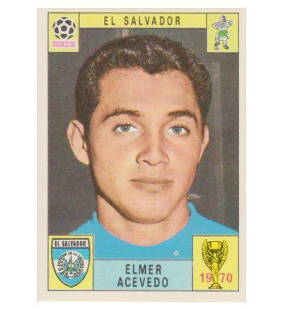 Panini Mexico 70 Karte Elmer Acevedo