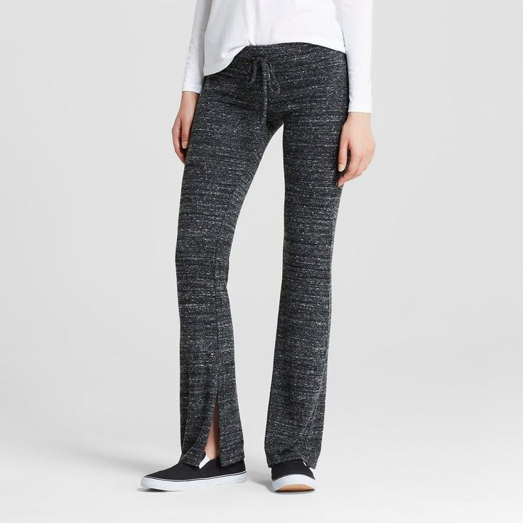 Women's Flare Lounge Pant Charcoal (Grey) XL - Mossimo Supply Co. (Juniors')