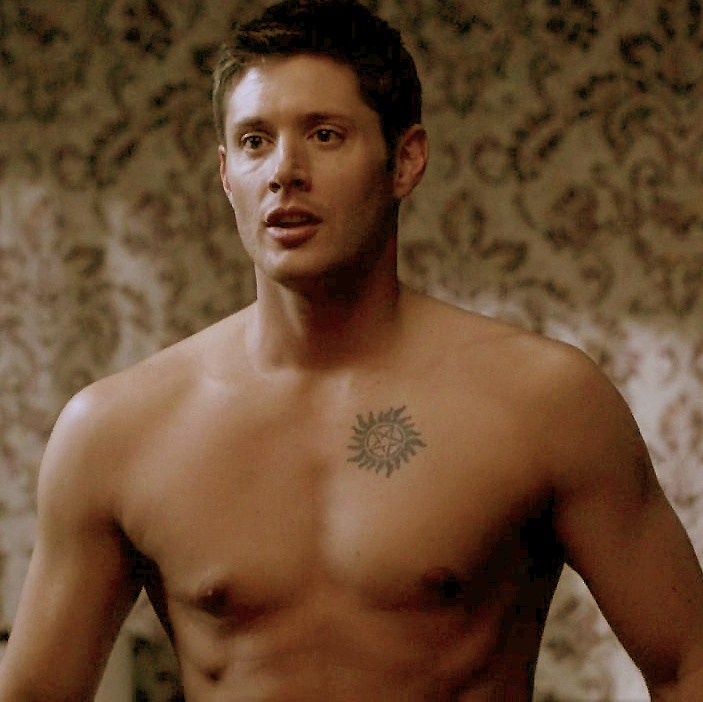 Image result for dean winchester topless