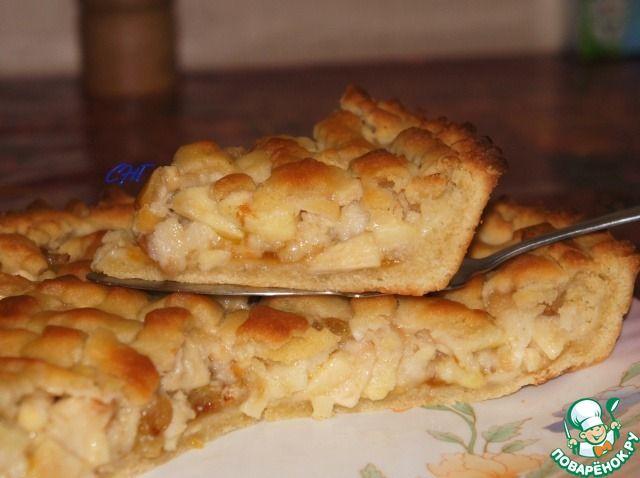 """Итальянский торт """"Хлеб и яблоки"""" - кулинарный рецепт"""