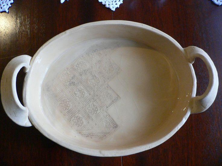 Zapékací miska s glazurou