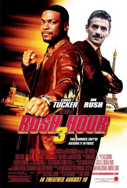 Rush Hour 3, starring Ian Rush