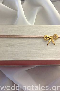 Tie the knot with an amazing gold plated bow!!!