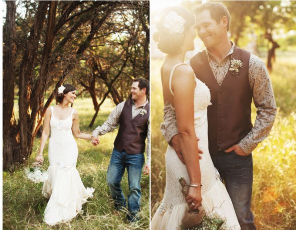Country Wedding Groom Attire Ideas