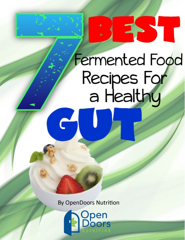 Get Our Free Recipe Book with The Best Fermented Foods Loaded with Probiotics for a Healthy Guy