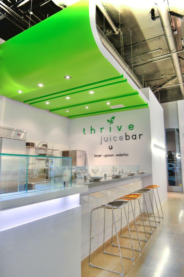 Charming Thinkform Architecture + Interiors Inc: Thrive Juice Bar #JuiceBar #Juice  #Thrive #