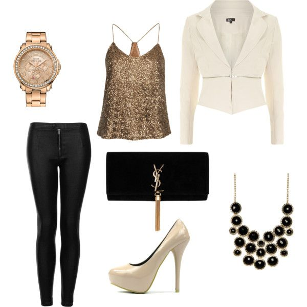I like this outfit for #christmas but also for #goingout to the club or goin on a #date it's just a nice classy looking outfit.