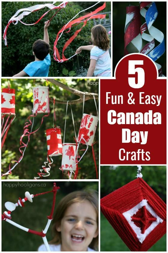 They're fun and easy for toddlers, preschoolers and big kids too. And guaranteed to add a splash of patriotic pride to your Canada Day celebrations!