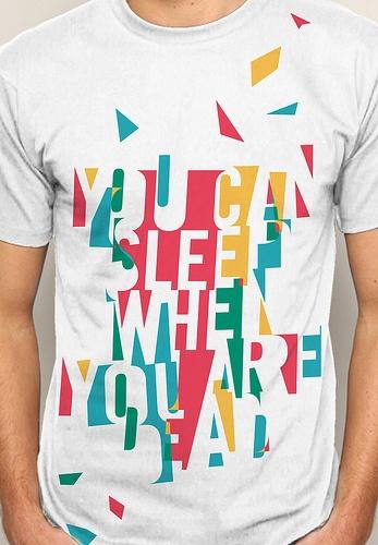 sleep when you are dead