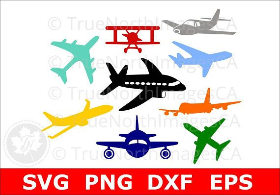 Airplane Svg Airplane Clipart Airplane Silhouette Airplane