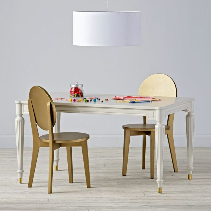 Fluted Play Table   Land Of Nod Kids Playroom