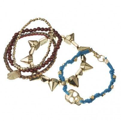 Mixed Gold Mish Mash Bracelet Pack $16.99