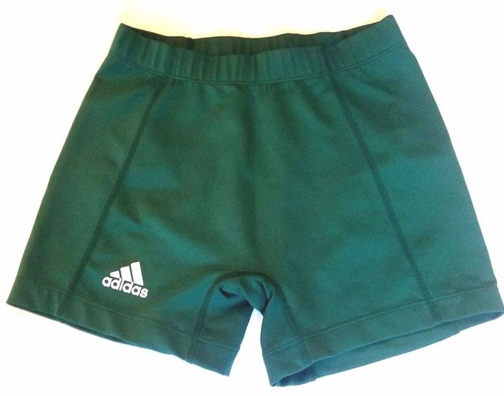 adidas Womens Medium Green Shorts Athletic Tights Compression  #adidas #AthleticTights