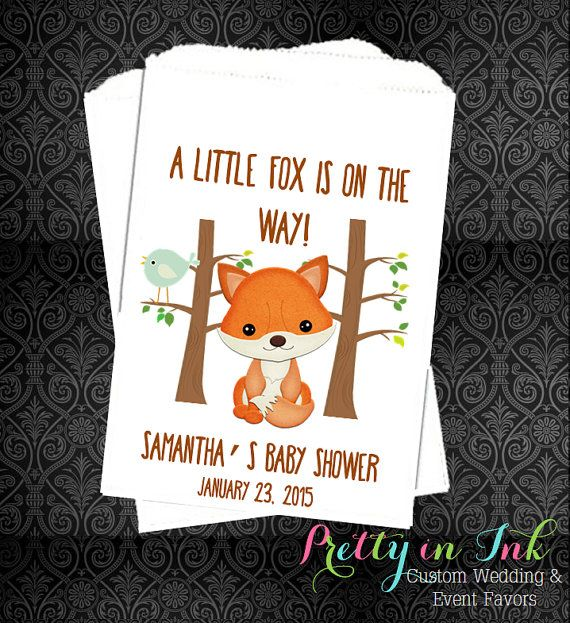 34 best little fox baby shower images on pinterest | woodland baby, Baby shower invitations