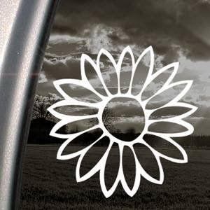 Flower White Sticker Decal Notebook Car Laptop Art Bumper White Sticker Decal Bargain Max Decals http://www.amazon.com/dp/B00CXMPR2E/ref=cm_sw_r_pi_dp_FZa.tb04YSWX5