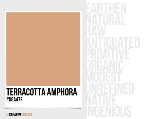 How does the color terracotta amphora d8a47f make you - How colors make you feel ...