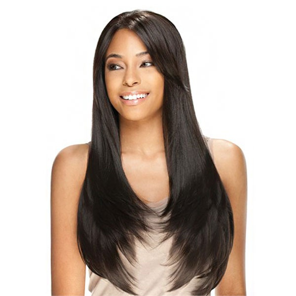 Model Model Synthetic Lace Front Wig Lux Bouncy 26