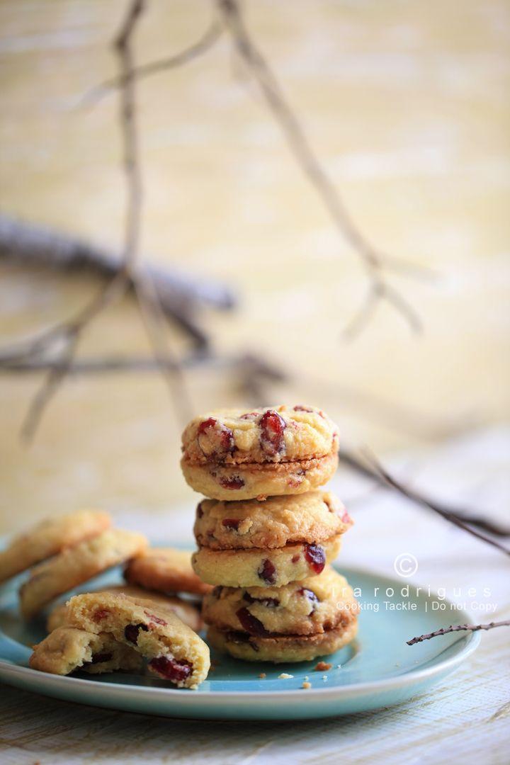 Cranberry Shortbread Cookies | cookie | Pinterest