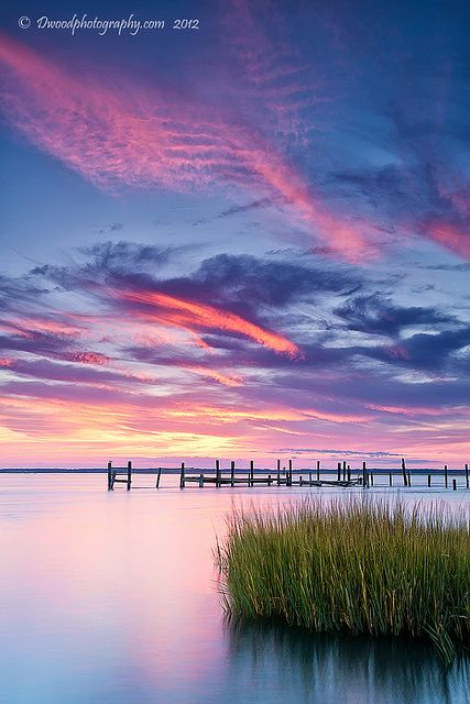 Chincoteague Island Views | A view from the southwestern end… | Flickr - Photo Sharing!