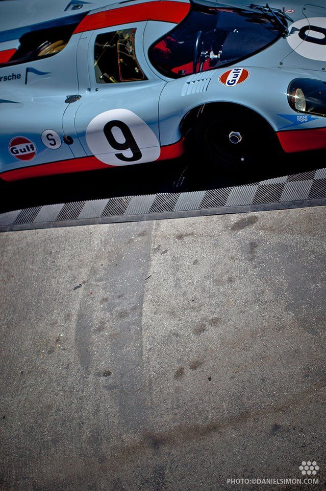 1970/71 Porsche 917K #9 at the 2014 Motorsports Reunion at Laguna Seca. Photo © 2014 www.danielsimon.com