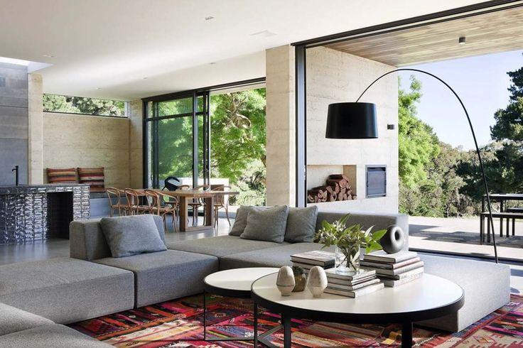 Rammed Earth House-Robson Rak Architects-07-1 Kindesign