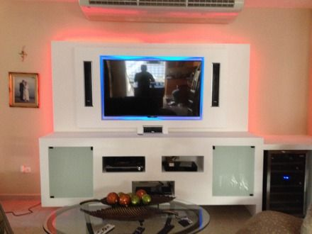 Gypsum Tv Wall Unit Idea : Fotos de GYPSUM BOARD-FACIAS DE TECHO- TV UNIT-NICHOS DECORATIVOS ...