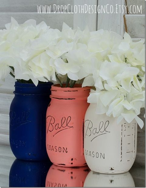 navy-coral-white-mason-jars-2