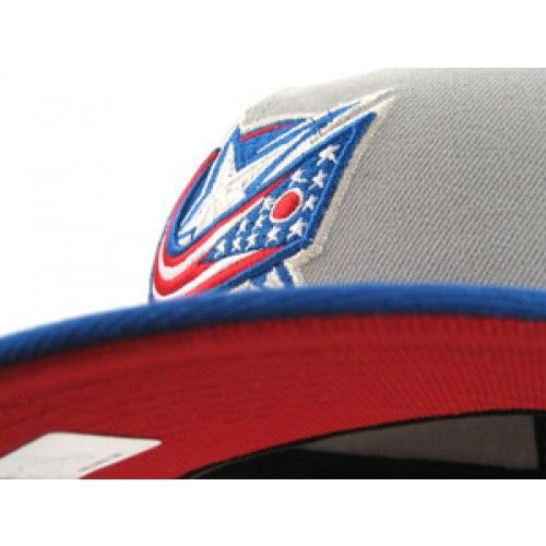 Columbus Blue Jackets New Era Hats (GRAY/BLUE/RED)
