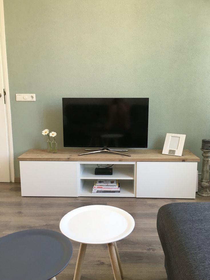 Inspiration Ikea besteht aus TV-Möbeln + Gerüstholz … #aus #besteht #Gerüstholz #IKEA #insp…