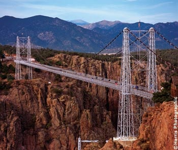 An awesome bridge sways as you walk or drive it loved it. Royal Gorge, Colorado Springs, Co