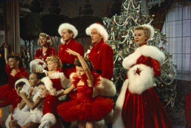 Bing Crosby, Danny Kaye, Rosemary Clooney and Vera-Ellen in White Christmas