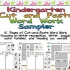 This FREE packet would be a great addition to literacy centers, literacy stations, morning work, or Working with Words!! It is a sampler of my thre...