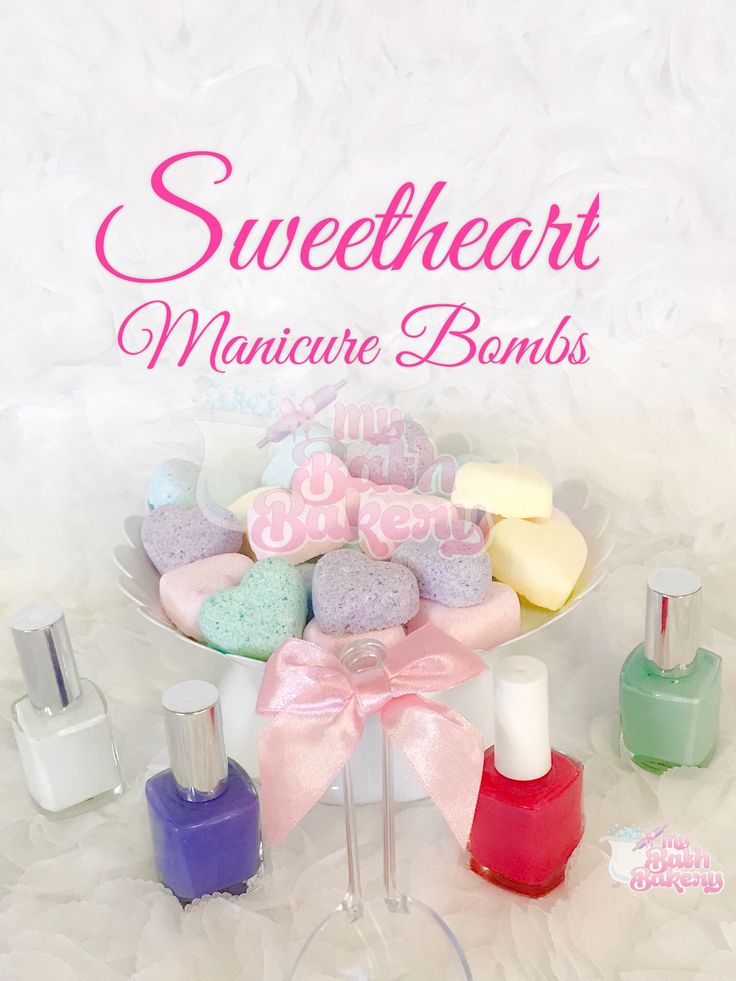 """Mini Manicure Bombs can add money to your spa. Offer to drop 💧one into your clients bowl for an extra fee. They also make it fun to use for """"Mommie and Me"""" spa days at home!"""