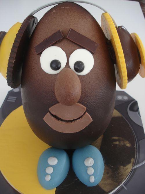 Huevo de pascua solidario, ¿no os recuerda a un juguete famoso?