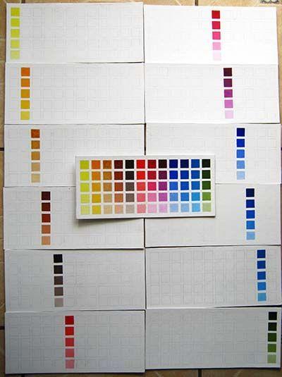 Carta de colores para pintar paredes with carta de colores para pintar paredes cool mezcla de - Muestrario de colores para pintar paredes ...
