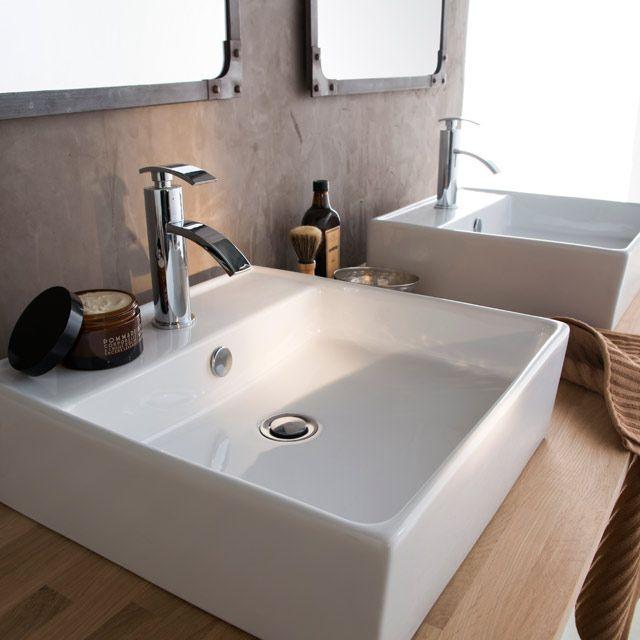 Vasque à poser Onyx - CASTORAMA 69 euros
